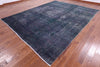 10 X 13 Blue-Green Over-dyed Rug -  Golden Nile