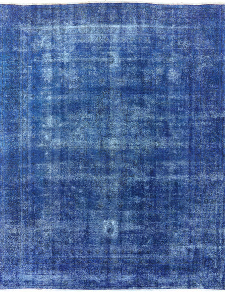 Blue Over-dyed 10 X 12 Rug - Golden Nile