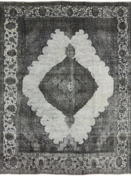 Oriental Grey Overdyed 10 X 12 Rug - Golden Nile