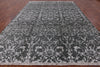 "Art Deco Wool & Silk Rug - 9' X 11' 11"" - Golden Nile"
