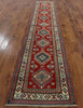 Super Kazak Runner Oriental Rug 3 X 13 - Golden Nile