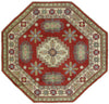 Oriental Super Kazak 7' Octagon Area Rug - Golden Nile
