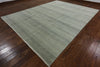 Savannah Grass Hand Knotted 9 x 12 Gabbeh Rug - Golden Nile