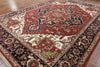 Red Serapi Wool Area Rug 10 X 14 - Golden Nile