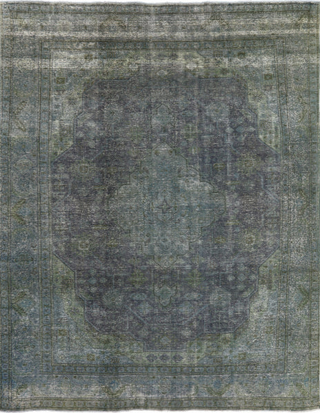 Overdyed Wool Area Rug 10 X 13 - Golden Nile