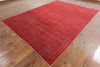 Overdyed Wool Area Rug 8 X 11 - Golden Nile