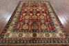 Super Kazak Hand Knotted Area Rug 7 X 9 - Golden Nile