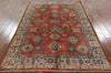 Unique Oriental Super Kazak Wool Rug 6 X 8 - Golden Nile