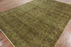 Floral Design Overdyed Rug 8 X 11 - Golden Nile