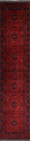 Bokhara Runner Wool Area Rug 3 X 13 - Golden Nile
