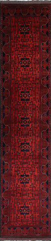 Bokhara Runner Wool Area Rug 3 X 13