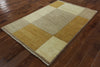 Gabbeh Oriental Area Rug 4 X 6 - Golden Nile