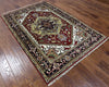Heriz Oriental 4 X 6 Area Rug - Golden Nile