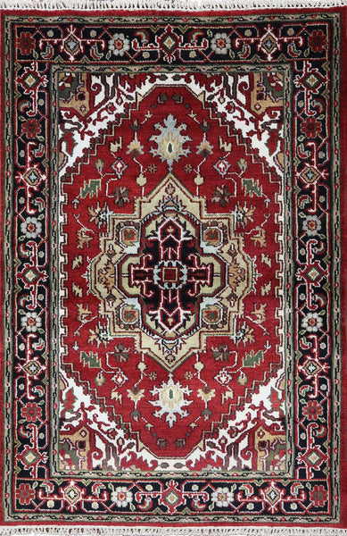 Oriental 4 X 6 Serapi Area Rug - Golden Nile