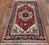 3 X 5 Traditional Heriz Area Rug - Golden Nile