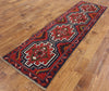 3 X 10 Red/Blue Balouch Oriental Wool On Wool Rug -  Golden Nile