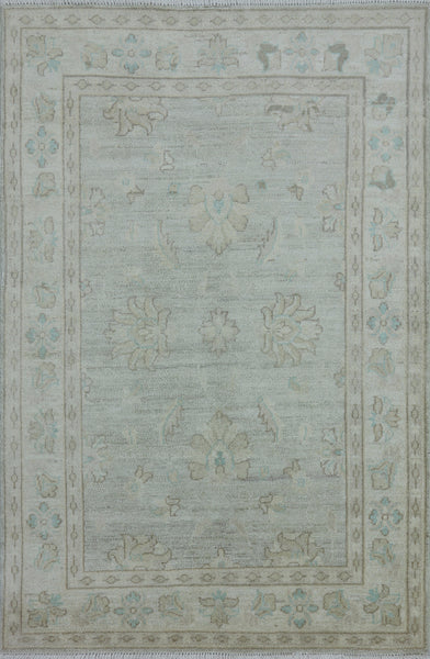 3 X 5 Peshawar Hand Knotted Area Rug - 7Rugs - 1