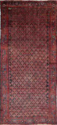 Handmade Persian Wool On Wool Area Rug 5 X 11