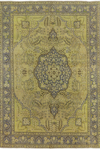 Persian Hand Knotted Overdyed Area Rug 10 X 13