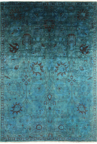 Vibrance Persian Overdyed Area Rug 9 X 13