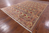 "William Morris Hand Knotted Wool Area Rug - 8' 10"" X 11' 9"" - Golden Nile"