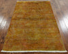 4 X 6 Overdyed Handmade Rug - Golden Nile