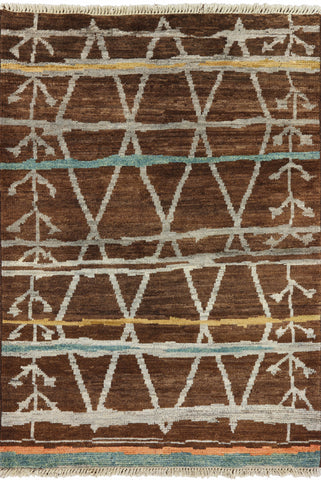 Tribal 4 X 6 Navajo Design Area Rug