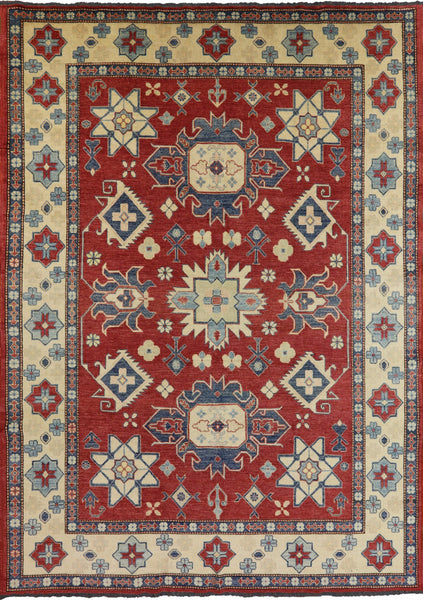 9 X 12 Wool On Wool Super Kazak Oriental Area Rug - Golden Nile