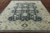 8 X 10 Oriental Blue Oushak Rug - Golden Nile