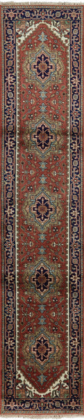3 X 13 Oriental Serapi Runner - Golden Nile