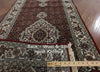 3 X 20 Wool & Silk Tabriz Runner - Golden Nile