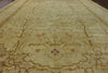 14 X 20 Khaki Signed Peshawar Rug -  Golden Nile