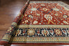 Signed Persian Red Rug 14 X 20 -  Golden Nile