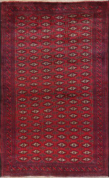 Persian Area Rug 4 X 6 - Golden Nile