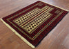 Oriental Hand Knotted Wool On Wool Persian Rug 4 X 5 - Golden Nile