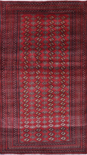 Bokhara Persian Oriental Rug 4 X 8 - Golden Nile