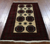 Oriental Hand Knotted Persian Area Rug 3 X 5 - Golden Nile
