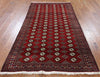 Bokhara Collection Oriental 4 X 8 Persian Rug - Golden Nile