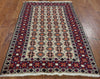 Handmade Persian Oriental Area Rug 4 X 6 - Golden Nile