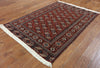 Oriental Bokhara Wool On Wool Persian Rug 5 X 7 - Golden Nile