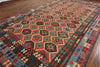 Reversible Flat Weave Kilim Wool on Wool Rug 10 X 16 - Golden Nile