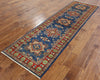 3 X 9 Runner Hand Knotted Kazak Rug - Golden Nile