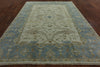 Oriental Oushak Area Rug 8 X 10 - Golden Nile