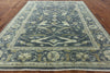Dark Grey Oriental Oushak Rug 9 X 12 - Golden Nile