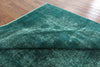 11 X 13 Green Overdyed Rug -  Golden Nile