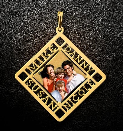 Family Photo Pendant