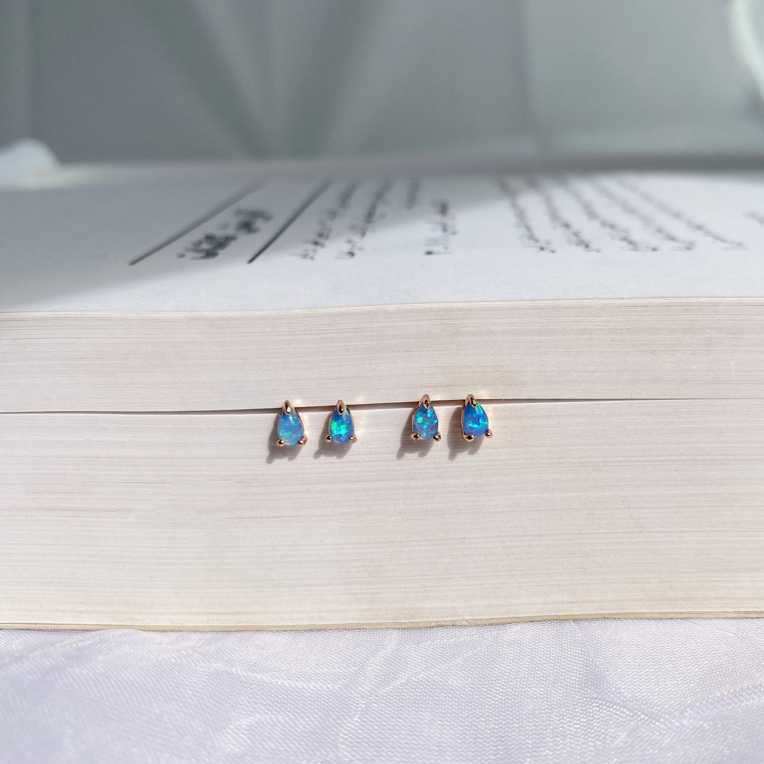 Delphine Baby Opal Studs
