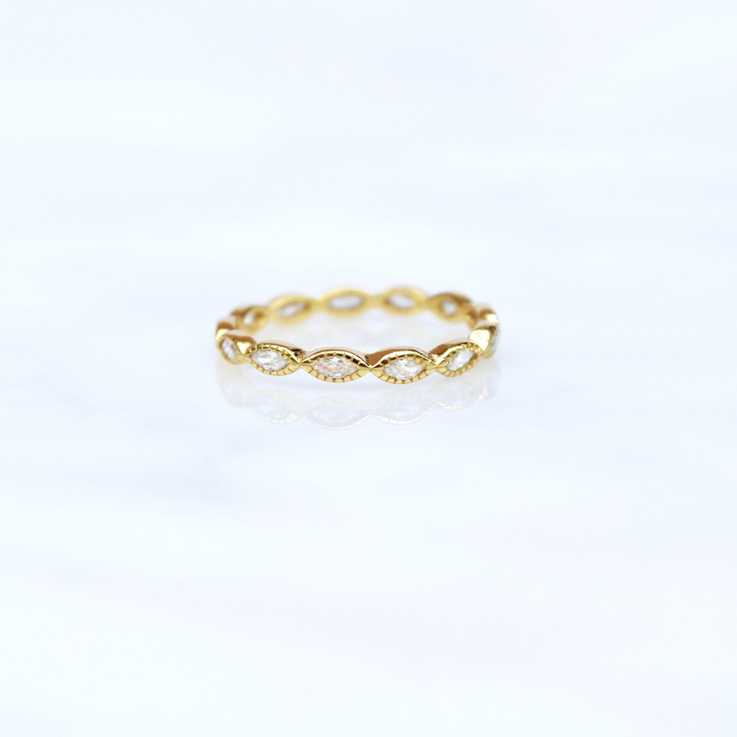Beaded Eye Eternity Band