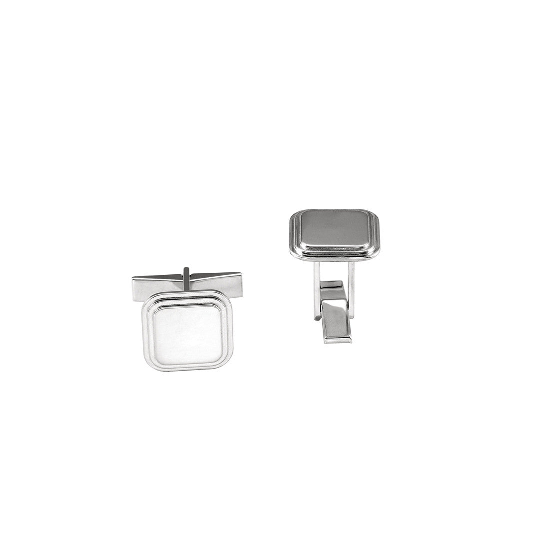 Kimiya Jewelers Engravable Square Cuff Links