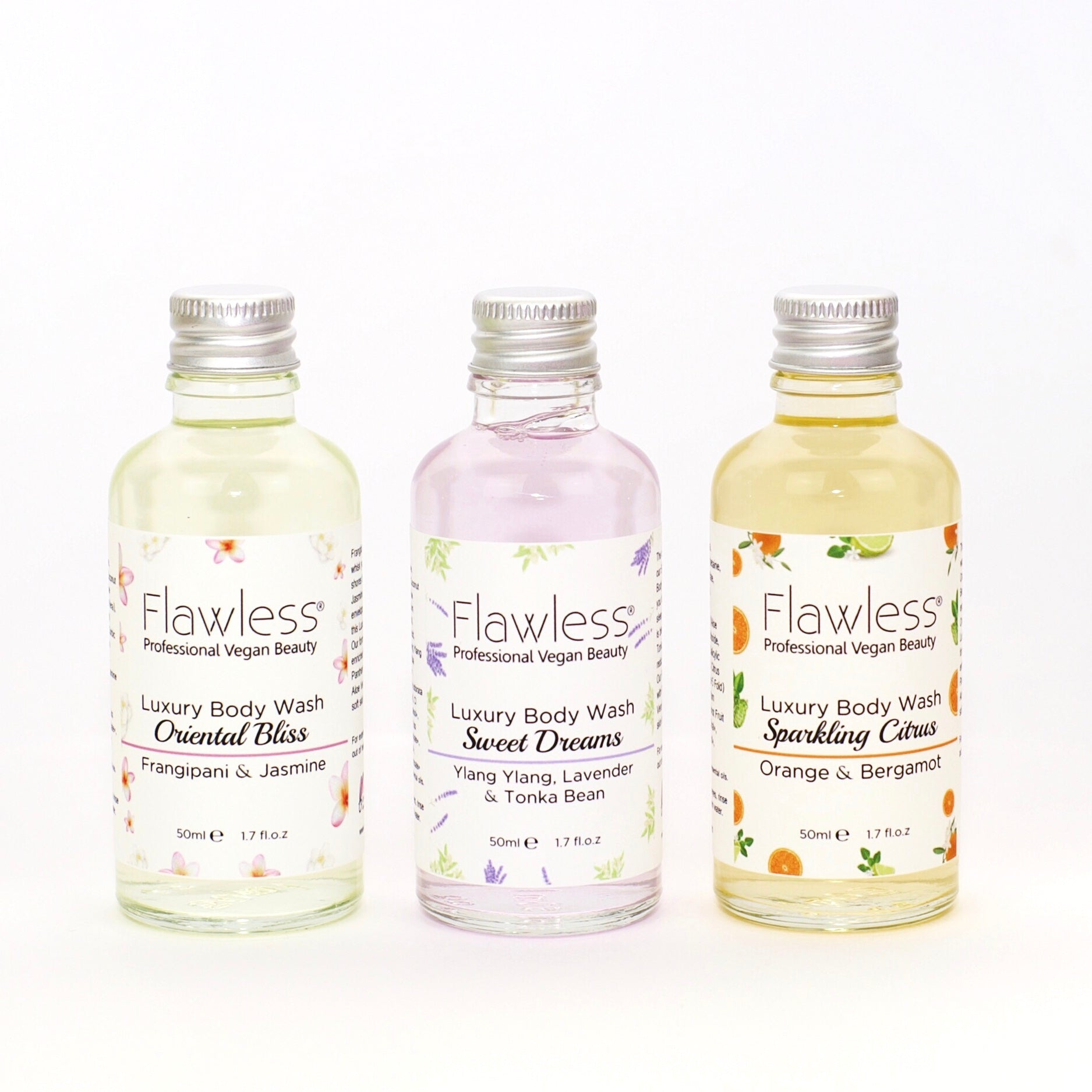 Mini Luxury Body Wash Set